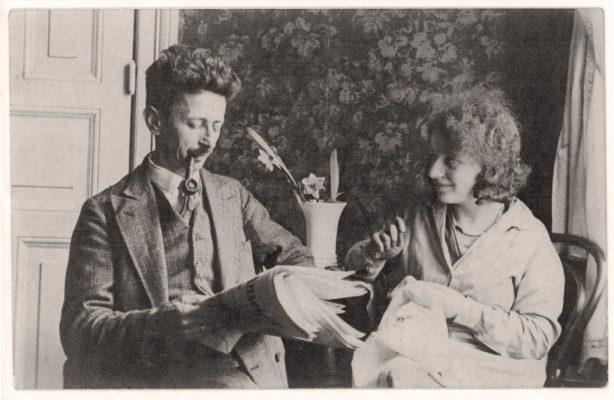 Die Eltern: Simon, genannt Pudl, und Hertha Parnass, geborene Emanuel, wurden im Vernichtungslager Treblinka von den Nazionalsozialisten ermordet.