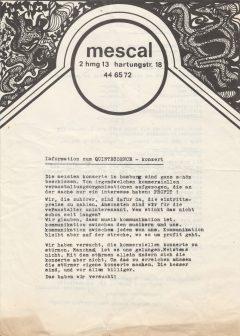 """Auch andere Hamburger Initiativen wie das """"mescal"""" im Grindel-Viertel versuchen..."""