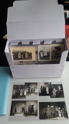 Fotos aus dem Vorlass in der Bearbeitung im HIS-Archiv