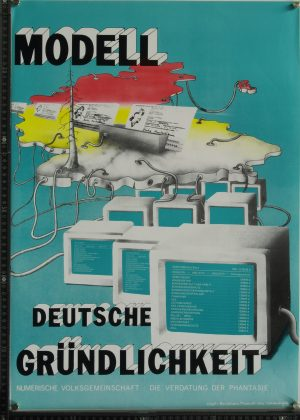 Plakat Modell deutsche Gründlichkeit