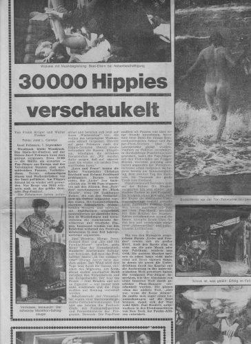 Hamburger Morgenpost Nr. 207 vom 7.9.1970 | Mit freundlicher Genehmigung der Morgenpost Verlag GmbH