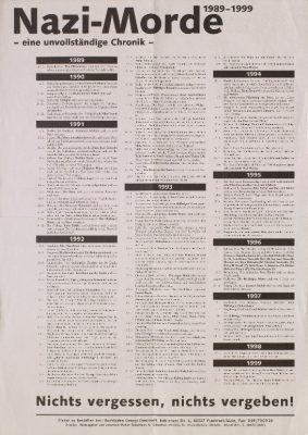 Informationsplakat des Berliner Vertriebs für Internationale Literatur, 1999 - Signatur: SBe_560_P2_56