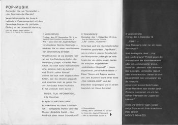 Programm-Flyer 1970
